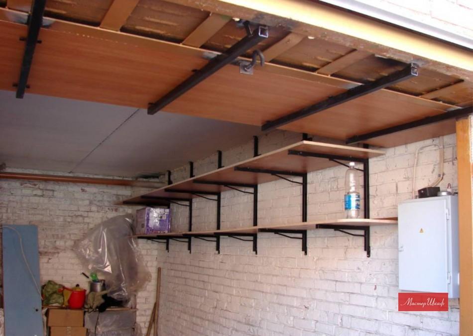 Как сделать стеллажи в гараж